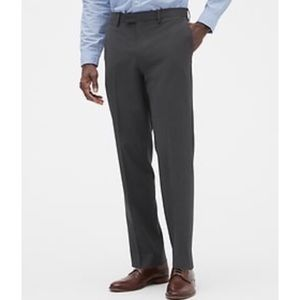 Mens' BR Smithfield pleated gray pants